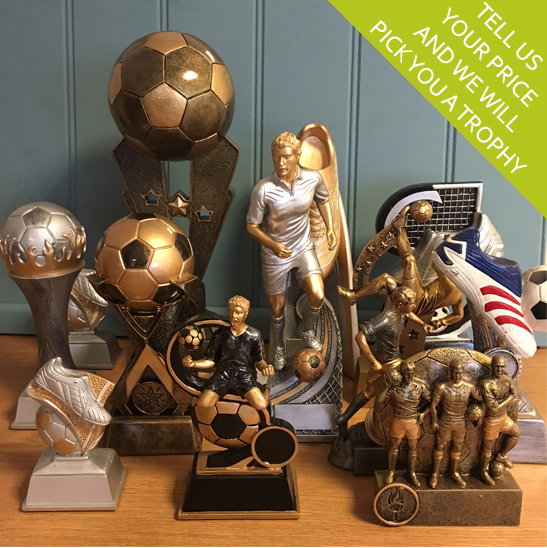 Budget Football Trophies