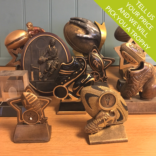 Budget Rugby Trophies