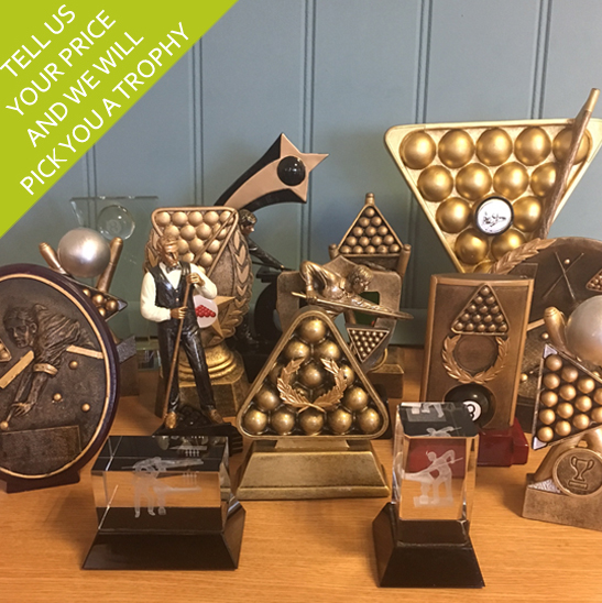 Budget Snooker/Pool Trophy Awards