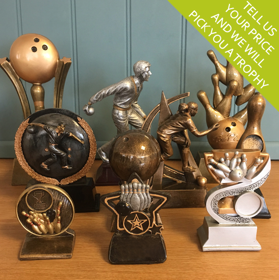 Budget Ten Pin Bowling Trophies