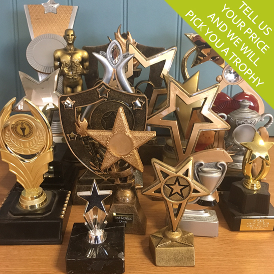 Generic Budget Trophies and Budget Awards