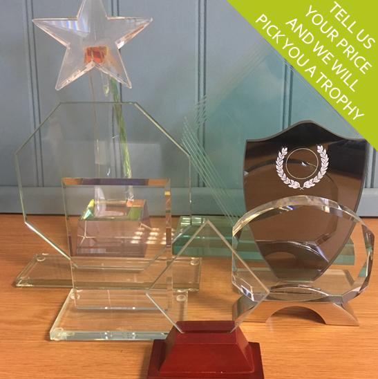 Budget Glass Trophies and Awards