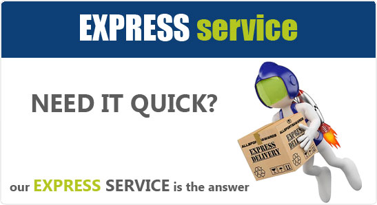Allsportsawards Express Service - Jump the queue and get your order fast!