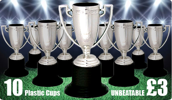 Allsportsawards 10 Plastic Cups for an unbeatable £3!