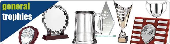 General trophies - Order Glass trophies, plaques, shields